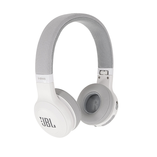 JBL E45BT - White - Wireless on-ear headphones - Detailshot 15