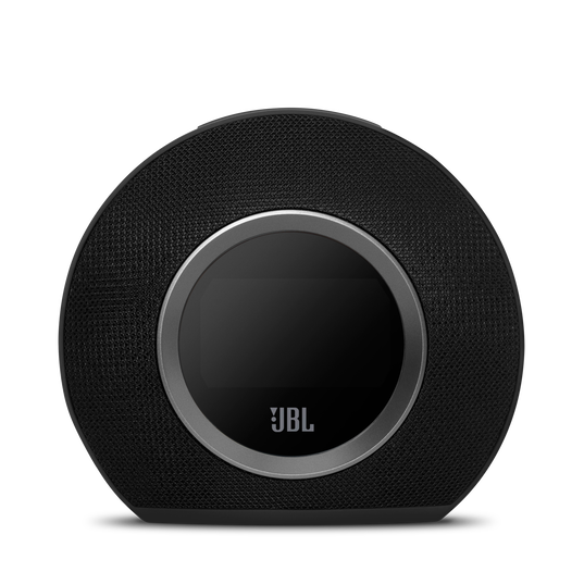 JBL Horizon - Black - Bluetooth clock radio with USB charging and ambient light - Detailshot 2