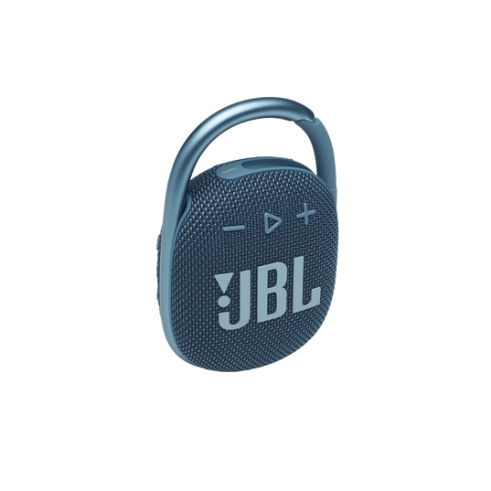 JBL CLIP 4 - Blue - Ultra-portable Waterproof Speaker - Hero