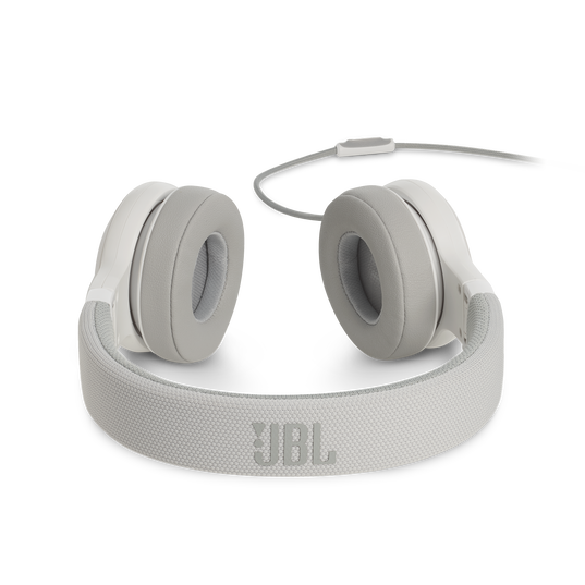 E35 - White - On-ear headphones - Detailshot 4