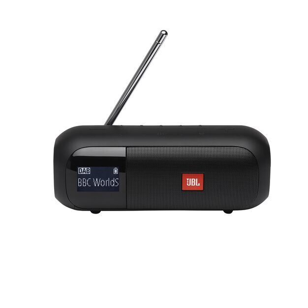 JBL Tuner 2 - Black - Portable DAB/DAB+/FM radio with Bluetooth - Front