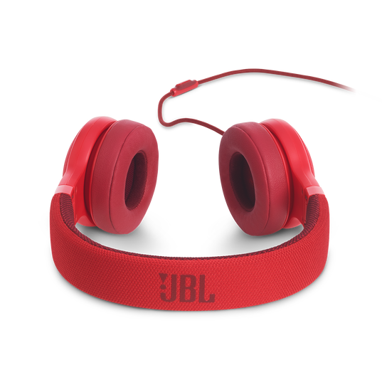 E35 - Red - On-ear headphones - Detailshot 4
