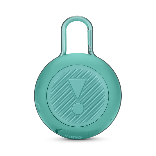 JBL CLIP 3 - River Teal - Portable Bluetooth® speaker - Back