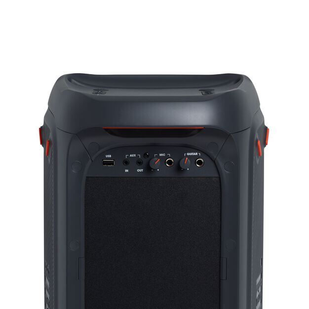China:- - Black - Powerful portable Bluetooth party speaker with dynamic light show - Detailshot 5