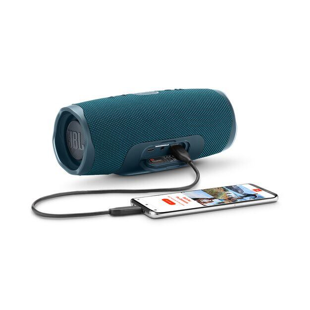 JBL Charge 4 - Blue - Portable Bluetooth speaker - Detailshot 4