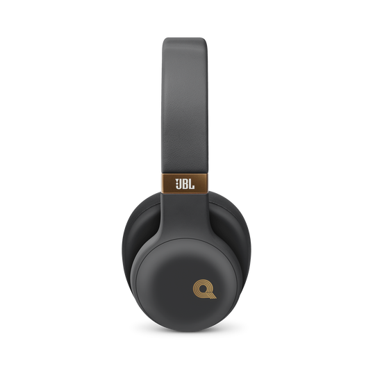 JBL E55BT Quincy Edition - Space Gray - Wireless over-ear headphones with Quincy's signature sound. - Detailshot 1