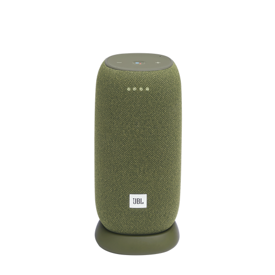 JBL Link Portable - Green - Portable Wi-Fi Speaker - Hero
