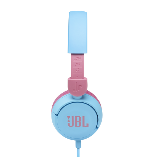 JBL Jr310 - Blue - Kids on-ear Headphones - Detailshot 1