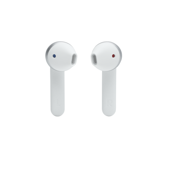 JBL Tune 225TWS - White - True wireless earbud headphones - Detailshot 1