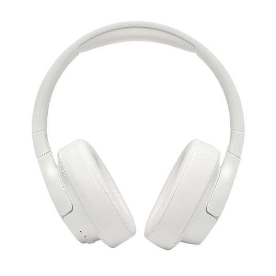 JBL TUNE 700BT - White - Wireless Over-Ear Headphones - Front