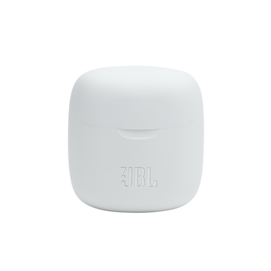JBL Tune 225TWS - White - True wireless earbud headphones - Detailshot 5
