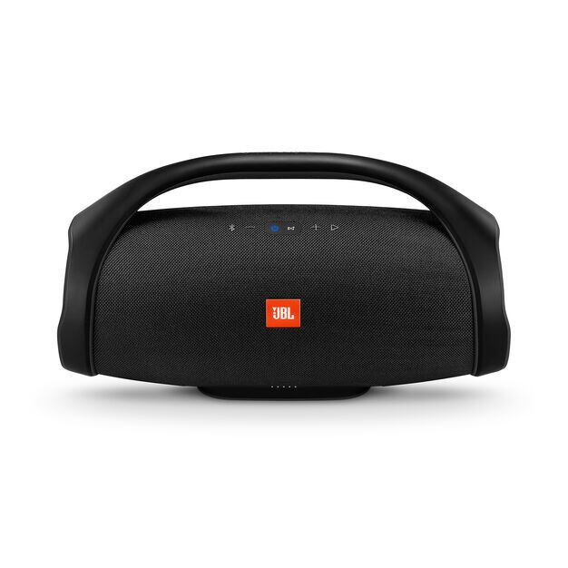 JBL Boombox - Black - Portable Bluetooth Speaker - Front