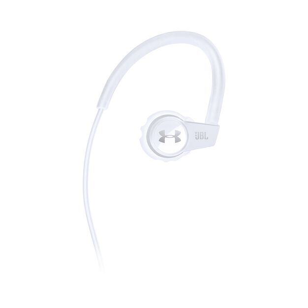 Under Armour Sport Wireless Heart Rate - White - Heart rate monitoring, wireless in-ear headphones for athletes - Front