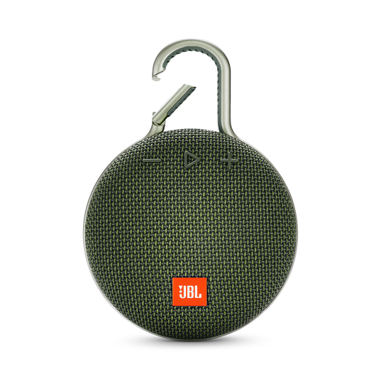 JBL CLIP 3 - Forest Green - Portable Bluetooth® speaker - Front