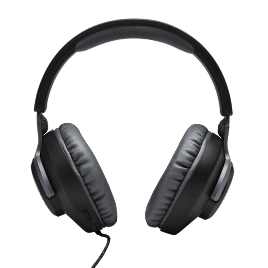 JBL Quantum 100 - Black - Wired over-ear gaming headset with a detachable mic - Detailshot 2