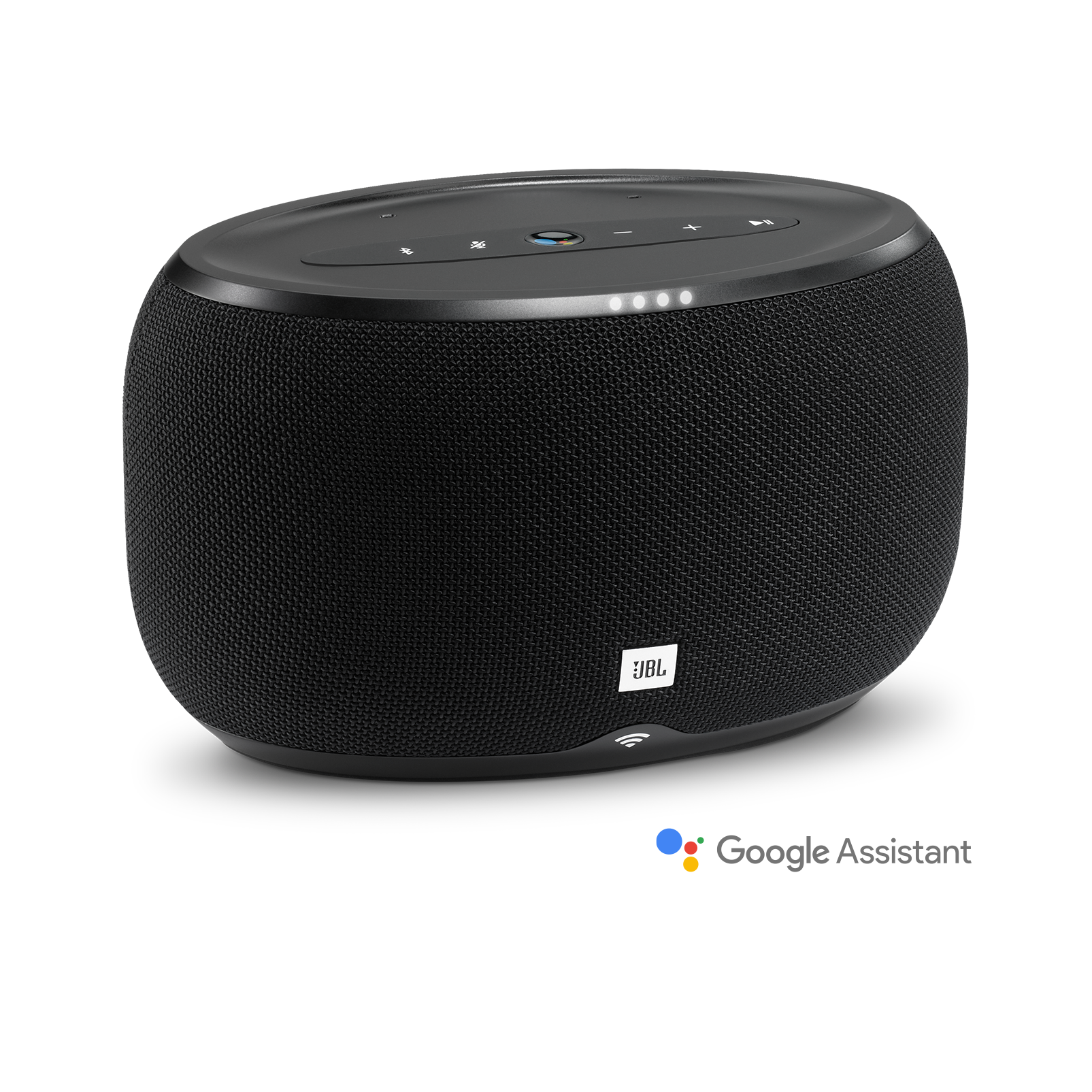 Black JBL Link300 Series Wireless Bluetooth Voice-Activated Speaker
